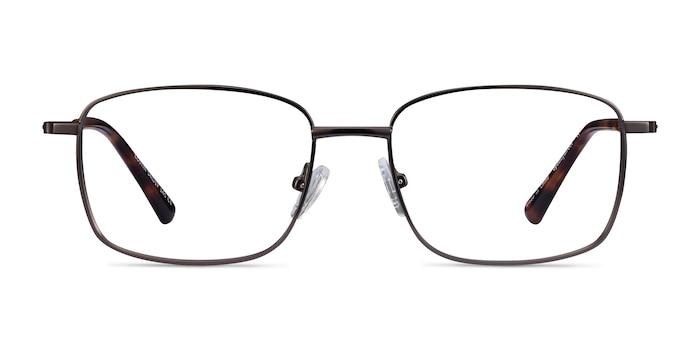 Costin Dark Gunmetal Metal Eyeglass Frames from EyeBuyDirect