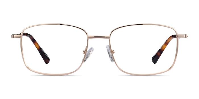 Costin Gold Metal Eyeglass Frames from EyeBuyDirect