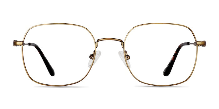 Index Bronze Tortoise Metal Eyeglass Frames from EyeBuyDirect