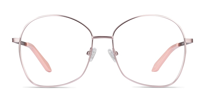 Bridget Pink Metal Eyeglass Frames from EyeBuyDirect