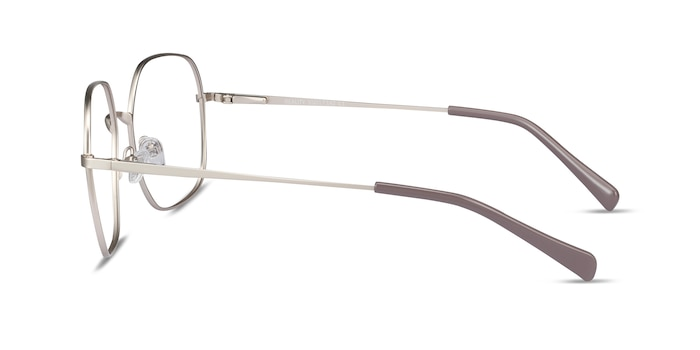 Reality Gold Metal Eyeglass Frames from EyeBuyDirect