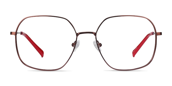 Reality Copper Metal Eyeglass Frames from EyeBuyDirect