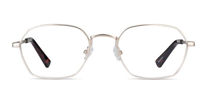 Space Gold Metal Eyeglass Frames from EyeBuyDirect