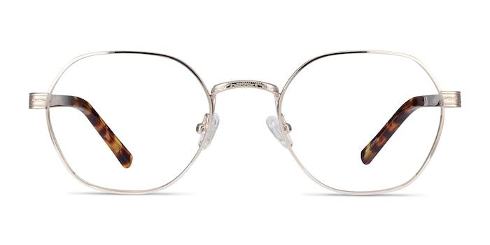 Fantasy Gold Acetate-metal Eyeglass Frames from EyeBuyDirect