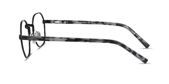 Fantasy Black Acetate-metal Eyeglass Frames from EyeBuyDirect