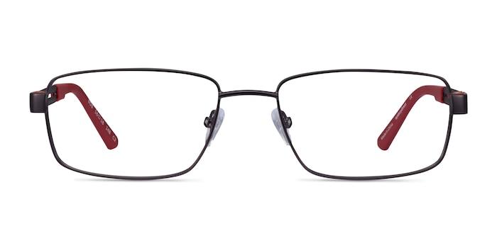 Bob Gunmetal Red Carbon-fiber Eyeglass Frames from EyeBuyDirect