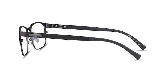 Clint Gunmetal Carbon-fiber Eyeglass Frames from EyeBuyDirect