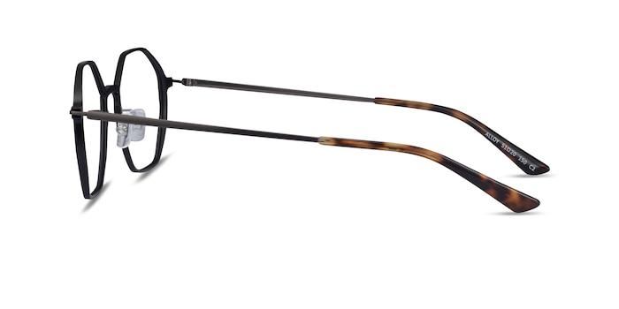 Alloy Black Aluminium-alloy Eyeglass Frames from EyeBuyDirect