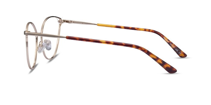 Trance Light Gold Metal Eyeglass Frames from EyeBuyDirect