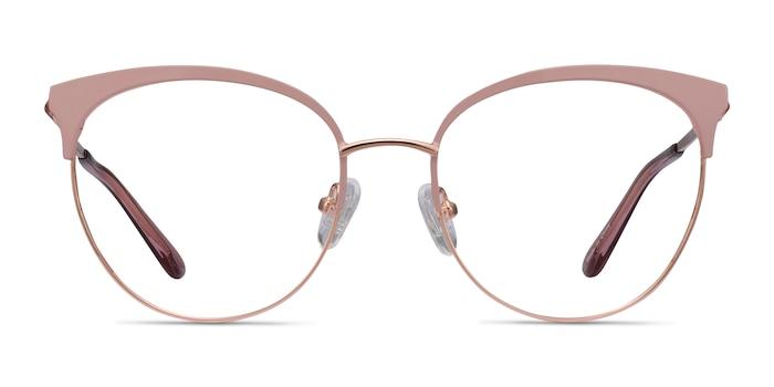 Gem Pink Rose Gold Métal Montures de Lunette de vue d'EyeBuyDirect
