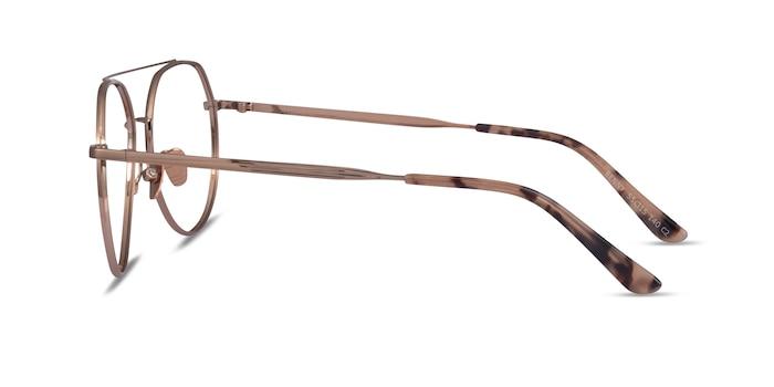Benny Rose Gold Metal Eyeglass Frames from EyeBuyDirect