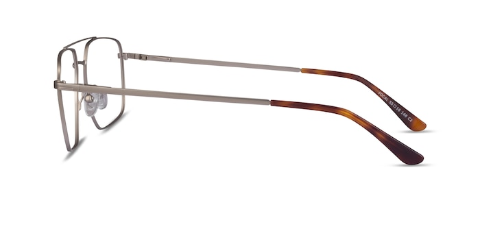 Focal Silver Metal Eyeglass Frames from EyeBuyDirect