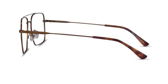 Aerial Bronze Metal Eyeglass Frames from EyeBuyDirect