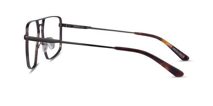 Orson Dark Gunmetal Métal Montures de Lunette de vue d'EyeBuyDirect