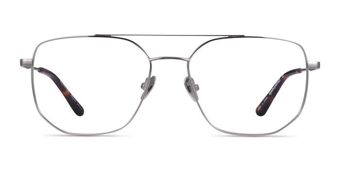 Morrison Silver Metal Eyeglass Frames from EyeBuyDirect