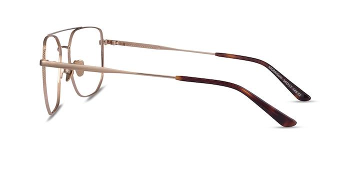 Morrison Gold Metal Eyeglass Frames from EyeBuyDirect