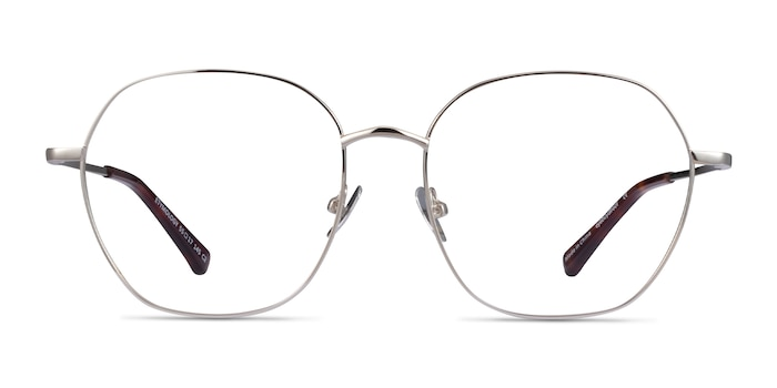 Etymology Silver Metal Eyeglass Frames from EyeBuyDirect