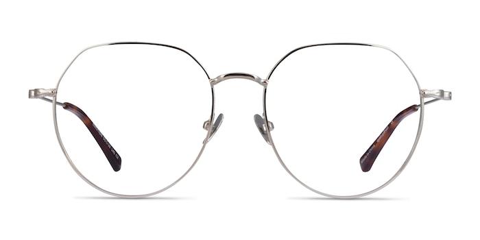 Emotion Silver Metal Eyeglass Frames from EyeBuyDirect