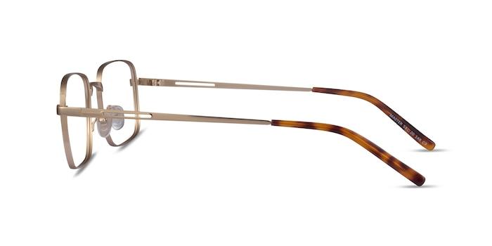 Master Gold Metal Eyeglass Frames from EyeBuyDirect