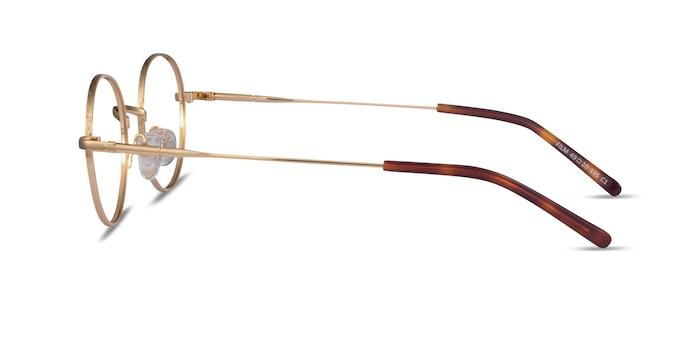 Film Gold Metal Eyeglass Frames from EyeBuyDirect