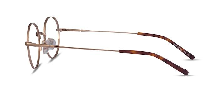 Film Rose Gold Métal Montures de Lunette de vue d'EyeBuyDirect