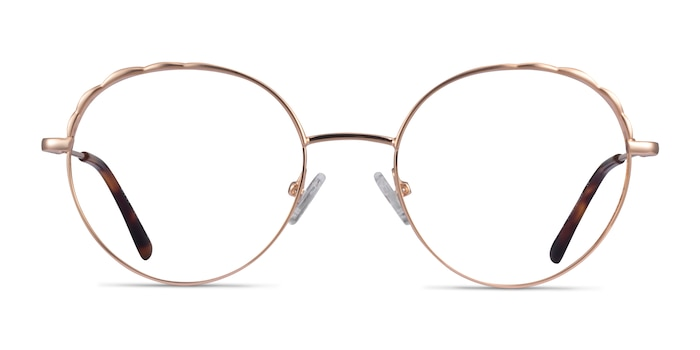 Cloud Rose Gold Métal Montures de Lunette de vue d'EyeBuyDirect