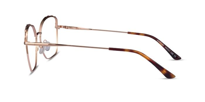 Rapture Rose Gold Metal Eyeglass Frames from EyeBuyDirect