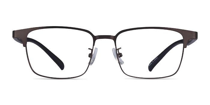 Jimy Matte Gunmetal Black Plastic Eyeglass Frames from EyeBuyDirect