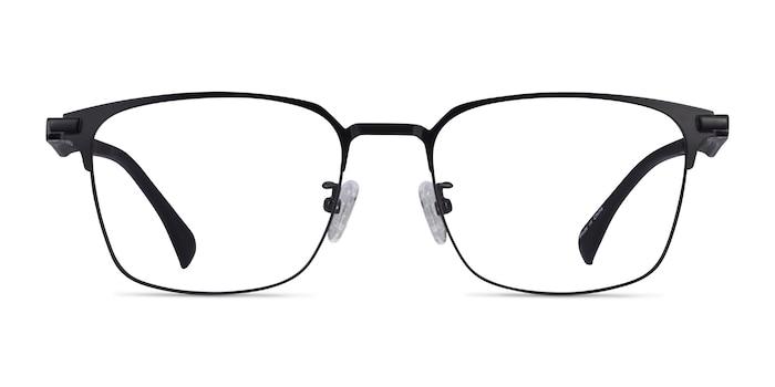Sapporo Black Plastic Eyeglass Frames from EyeBuyDirect