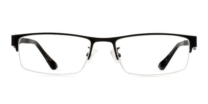 Beau Black Plastic-metal Eyeglass Frames from EyeBuyDirect