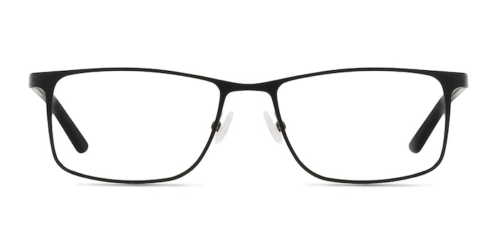 Clinton  Black  Metal Eyeglass Frames from EyeBuyDirect