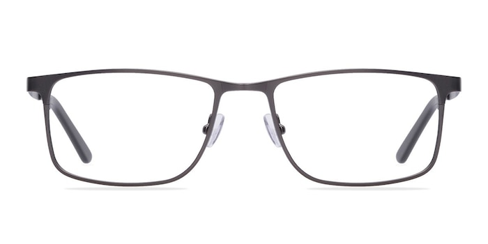 Clinton Gunmetal Metal Eyeglass Frames from EyeBuyDirect
