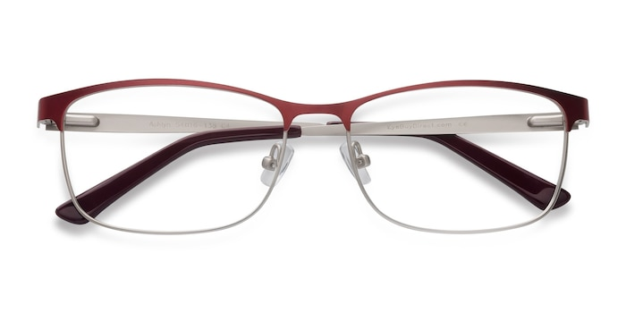 Red Ashlyn -  Lightweight Metal Eyeglasses