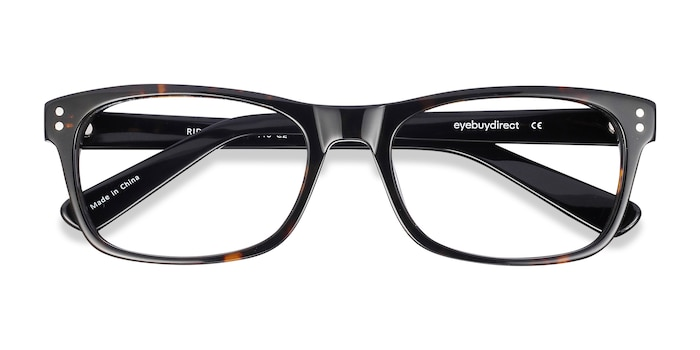 Tortoise Ridge -  Geek Acetate Eyeglasses