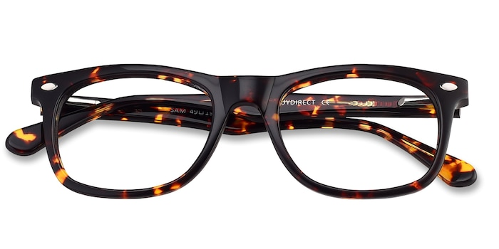Tortoise Sam -  Fashion Acetate Eyeglasses