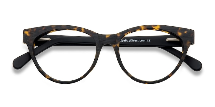 Brown/Tortoise Jane Birkin -  Vintage Acetate Eyeglasses