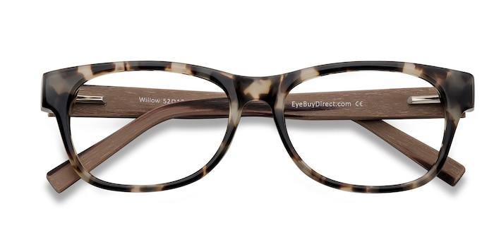 Brown/Tortoise Willow -  Acetate Eyeglasses