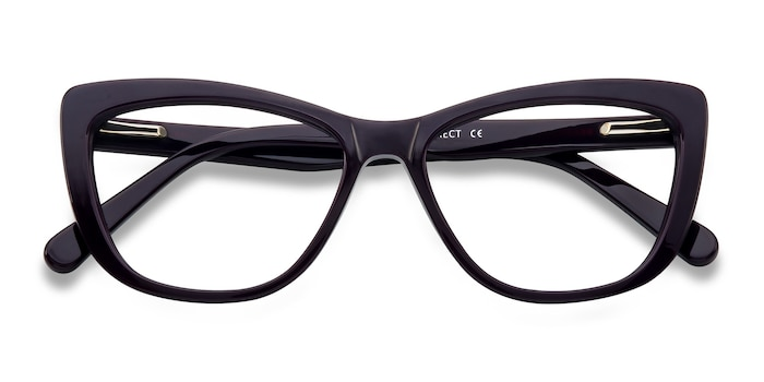 Purple Charlotte -  Fashion Acetate Eyeglasses