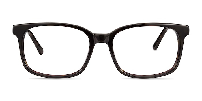 Claudia Brown/Tortoise Acetate Eyeglass Frames from EyeBuyDirect