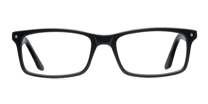 Mandi Noir Acétate Montures de Lunette de vue d'EyeBuyDirect