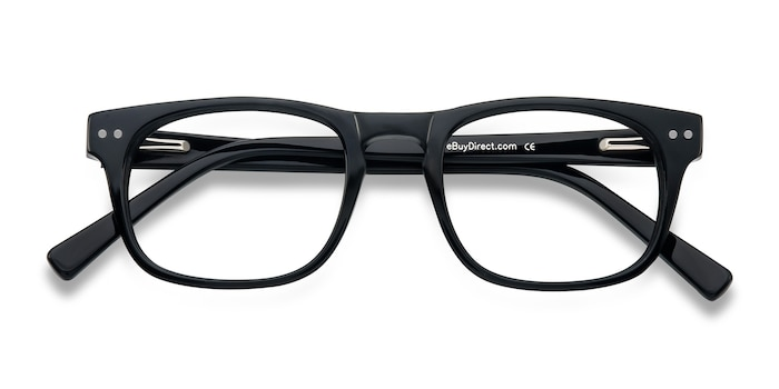 Black Carla -  Acetate Eyeglasses