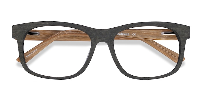 Olive White Pine -  Geek Acetate Eyeglasses