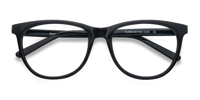 Black Anahi -  Acetate Eyeglasses