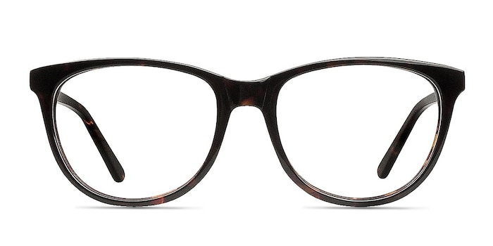 Anahi Brown/Tortoise Acetate Eyeglass Frames from EyeBuyDirect