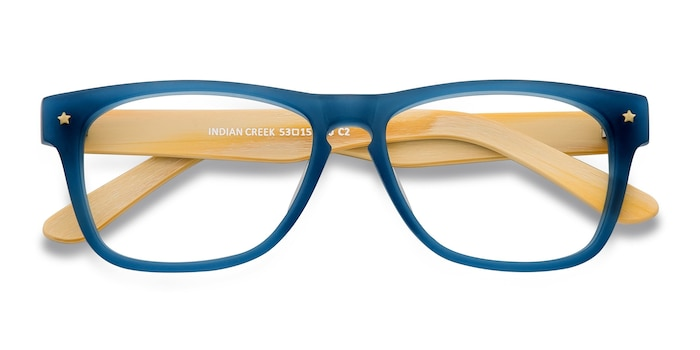 Blue Indian Creek -  Acetate Eyeglasses