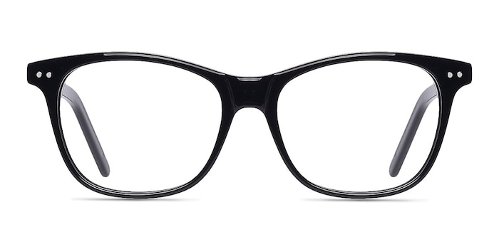 Almost Famous Black Acetate Eyeglass Frames from EyeBuyDirect