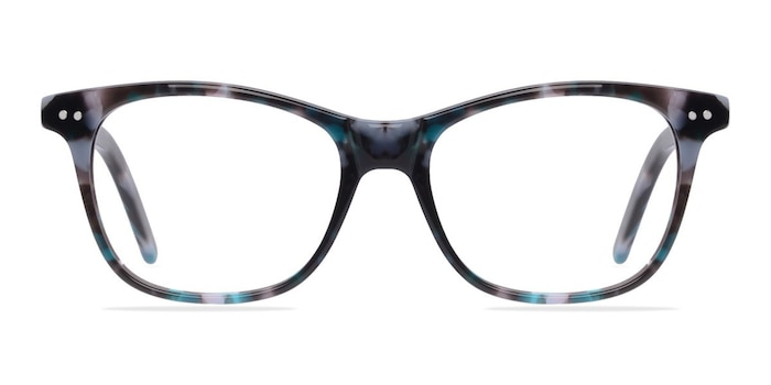 Almost Famous Nebular Blue Acetate Eyeglass Frames from EyeBuyDirect