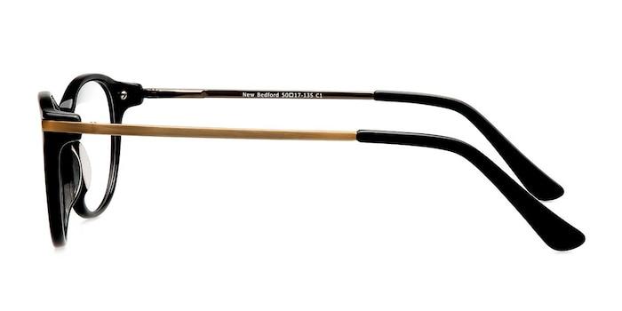 New Bedford Black Acetate-metal Eyeglass Frames from EyeBuyDirect
