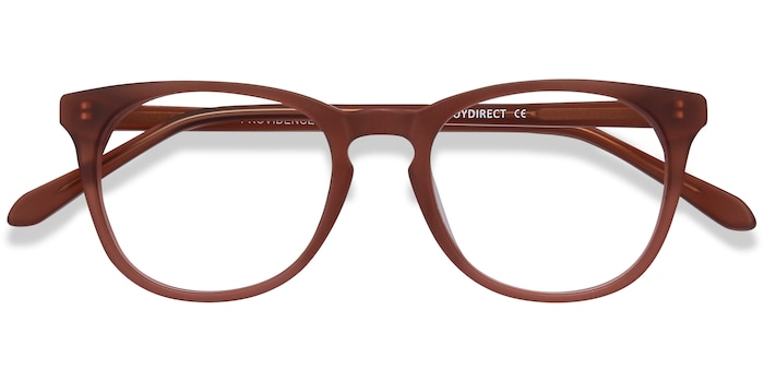 Matte Brown Providence -  Fashion Acetate Eyeglasses