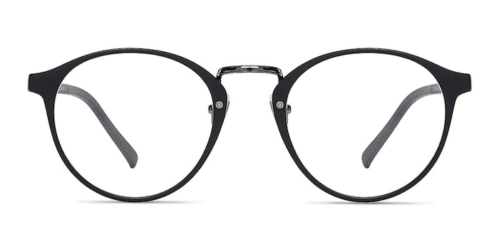 Chillax Matte Black/Gunmetal Plastic Eyeglass Frames from EyeBuyDirect